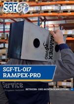 SGF-TL-017 RAMPEX-PRO Betriebs- und Montageanleitung